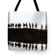 Dawn March Tote Bag by Private Collection