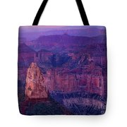 Dawn Mount Hayden Sunrise North Rim Grand Canyon Arizona Tote Bag by Dave Welling
