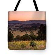 Dawn Near Ruidoso New Mexico Tote Bag