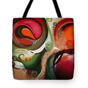 Dawn Of Creation Tote Bag