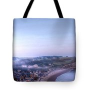Dawn Of Etretat Tote Bag