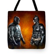 Dawn Of The Dark Knight Tote Bag