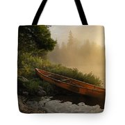 Dawn On Boot Lake Tote Bag