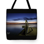 Dawn On Skaneateles Lake Tote Bag