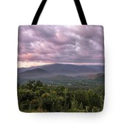 Dawn On The Foothills Parkway Tote Bag by Jemmy Archer