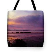 Dawn On The Mississippi Tote Bag