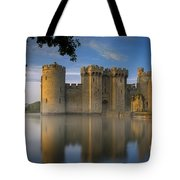 Dawn Over Bodiam Castle Tote Bag