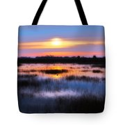 Dawn Over The Salt Marsh Tote Bag