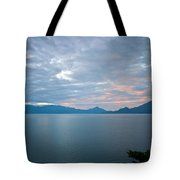Dawn Over The Volcano 5 Tote Bag