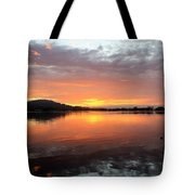 Dawn Panorama Tote Bag