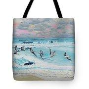 Dawn Pelicans Tote Bag