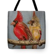 Dawn's Cardinals Tote Bag
