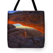 Dawns Early Light Tote Bag by Mike  Dawson