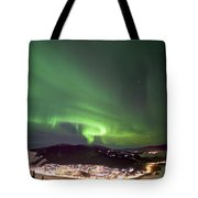 Dawson City Lights Tote Bag