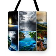 Day 7 Tote Bag by Lourry Legarde