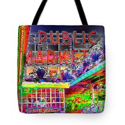 Day At The Market Tote Bag