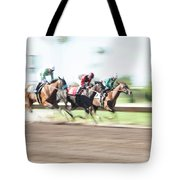 Day At The Races Tote Bag