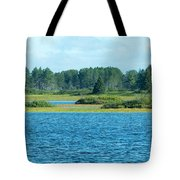 Day At The Wetlands Tote Bag
