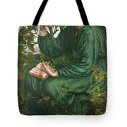 Day Dream Tote Bag by Dante Charles Gabriel Rossetti