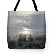 Day Fades Behind The Dunes Tote Bag
