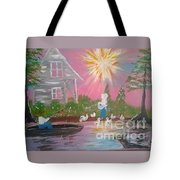 Day In Acadiana Tote Bag