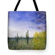 Day In Arizona Desert Tote Bag