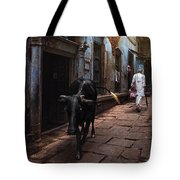 Day In Varanasi Tote Bag