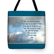 Day Light Tote Bag by Leona Atkinson