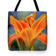 Day Lily Bright Tote Bag