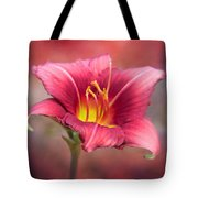 Day Lily Deep Tote Bag