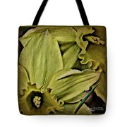 Day Lily In Yellow Tote Bag