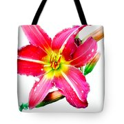 Day Lily No 2 Tote Bag