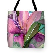 Day Lily Pink Tote Bag