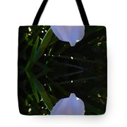 Day Lily Reflection Tote Bag