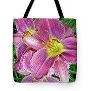Day Lilys Tote Bag