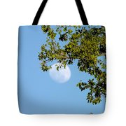Day Moon #2 Tote Bag
