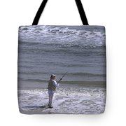 Day Of Ocean Fishing Tote Bag