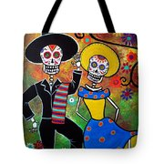 Day Of The Dead Bailar Tote Bag