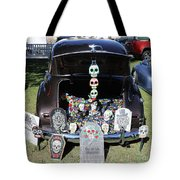 Day Of The Dead Classic Car Trunk Display  Tote Bag