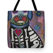 Day Of The Dead Hudson Tote Bag