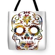 Day Of The Dead Tote Bag by Michael Colgate