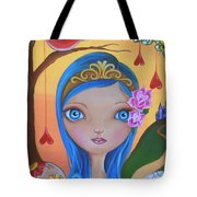 Day Of The Dead Princess Tote Bag