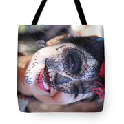 Day Of The Dead Woman I Tote Bag