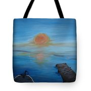 Day Out Fishing Tote Bag