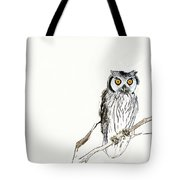 Day Owl Tote Bag