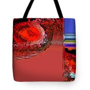 Day The Sun Burns Up Tote Bag