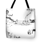 Day Trippin' 1 And 2 Tote Bag