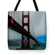 Daybreak At The Golden Gate Tote Bag
