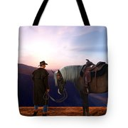 Daybreak Tote Bag by Corey Ford