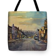 Daybreak In Mineral Point Tote Bag